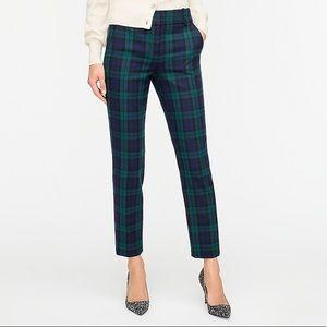J.Crew Wool Tartan Plaid Pants